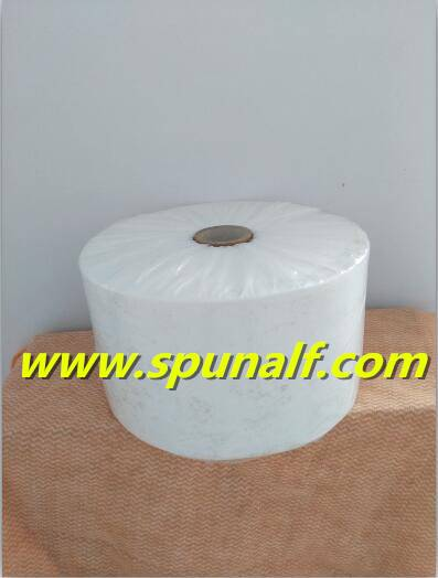 Nonwoven fabric raw material roll for baby skin care wet wipes