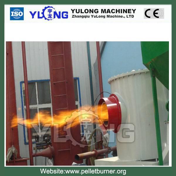 Automatic wood stove pellet burner boiler pellet boiler