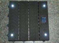 Solar flooring light