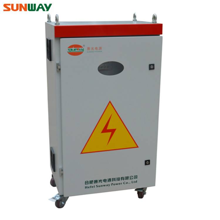 360V/380V/384V 85A-100A PV solar control cabinet for solar panel system