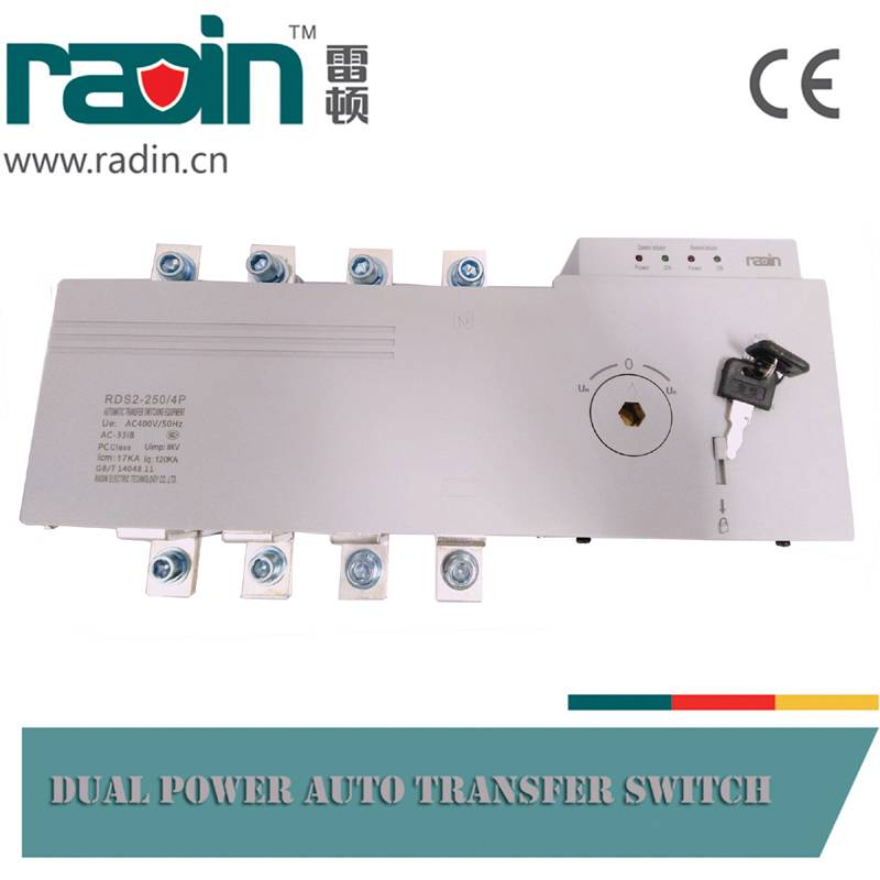 RDS2 Generator Transfer Switch ATS, Auto Changeover Switch