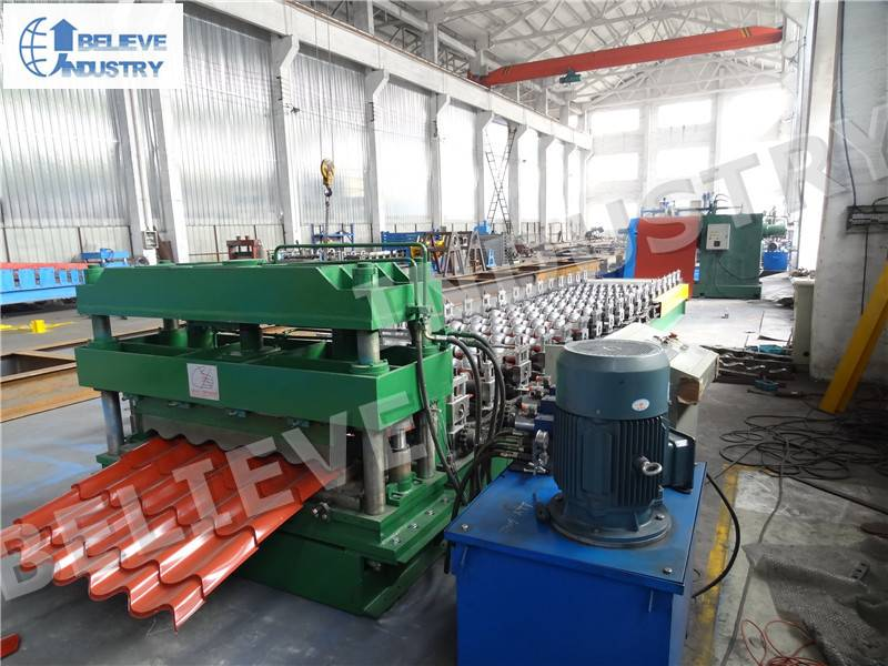Sell 3D Glazed Tile Roll Forming Machine