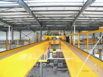QD type Electric Doube Beam overhead crane