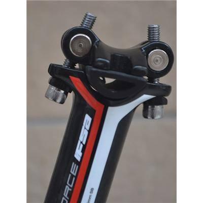 FSA-k Carbon Fibre Double Nail Seatpost MTB Bike Seatpost 27.2350mm 3K