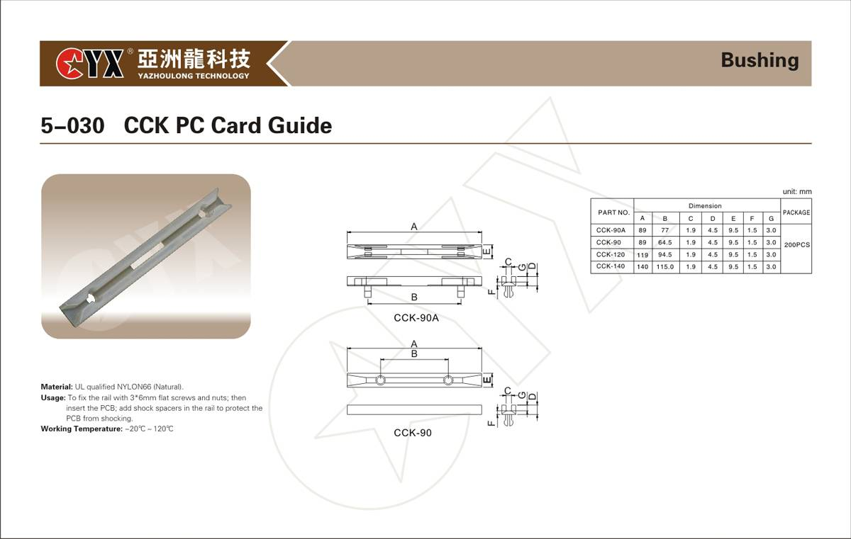 5-030 CCK PC Card Guide