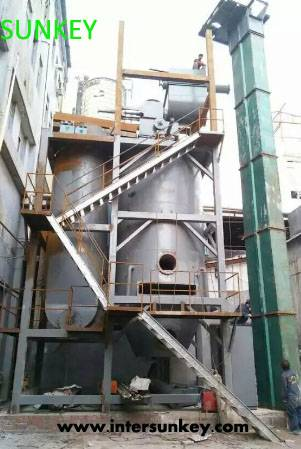SUNKEY hot sale automatic industrial biomass gasification