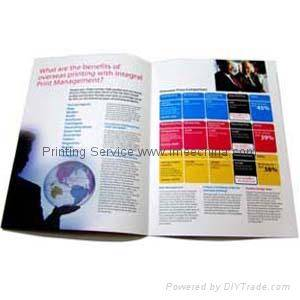 Brochure,magazine,book,catalogue printing service in China