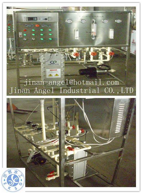 0.5T/H EDI ultrapure water treatment system