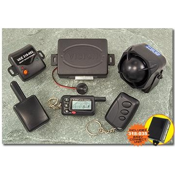 VISION 1330B 2-Way Paging Car Security System
