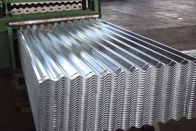 Corrugated Aluzinc Iron Roof Sheet Roll Forming Machine For Sale