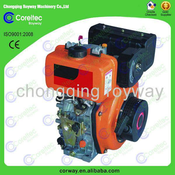 Air Cooled Electric /Recoil Start new product Single Cylinder 4-Stroke 418cc Diesel Engine