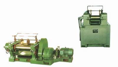 two-roll rubber mixing mill
