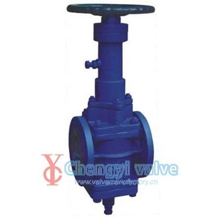 API orbit plug valve