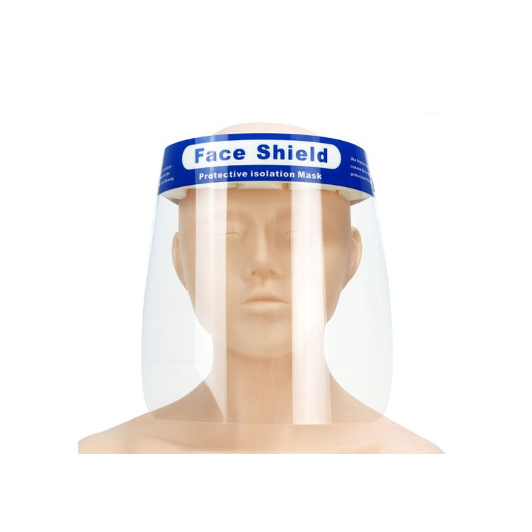 Medical Protective Transparent Plastic Face Shield/Isolation face shield