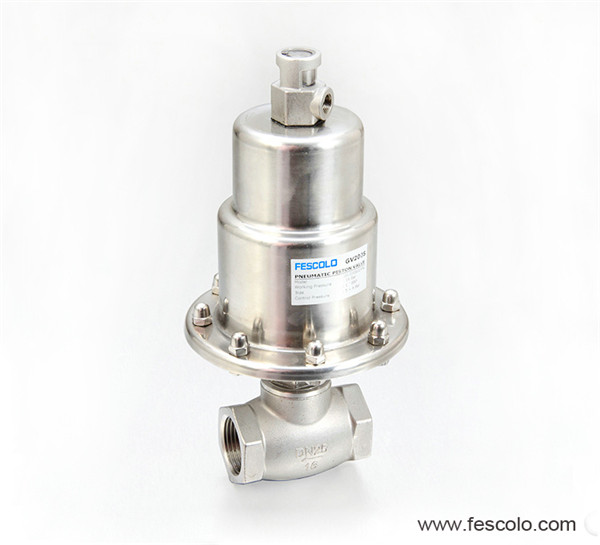 GV200 Series Polished Actuator Globe Control Valve