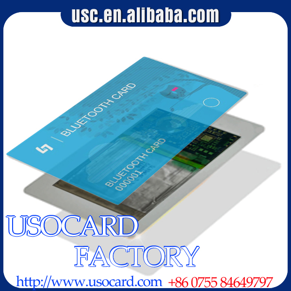 2017 New Product portable bluetooth smart card