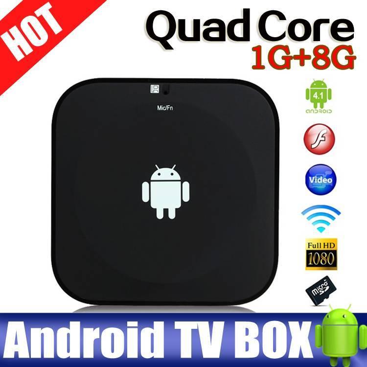 Cheap quad core Allwinner A31s android tv box 3D google tv box mini black tv box full hd bluetooth