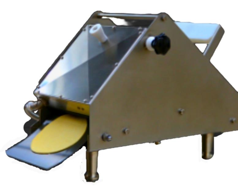 Tortilla shaping equipment