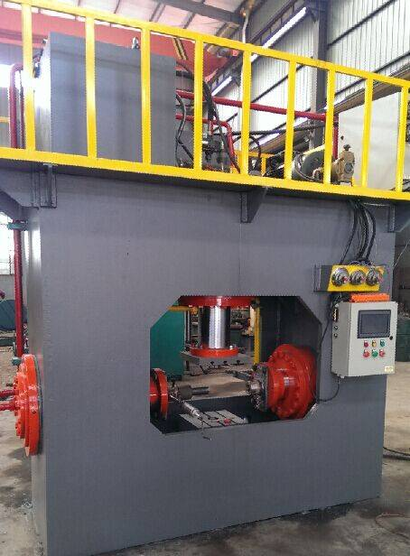 heavy wall tee machine