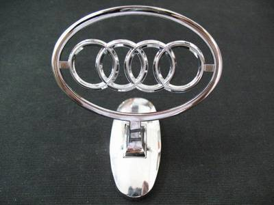 Audi Car Hood Ornament Emblem Car Head Ornament Car Accessories - Audi car emblem
