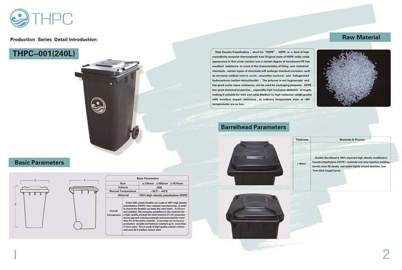 supply plastic dustbin trash can garbage bin waste bin