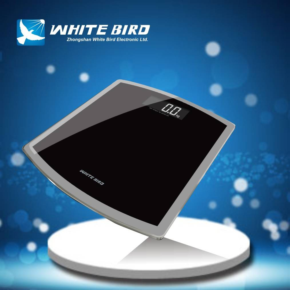glass bathroom scale BG-206