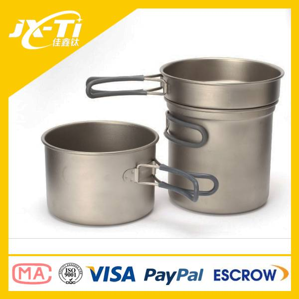 new model outdoor titanium cookware