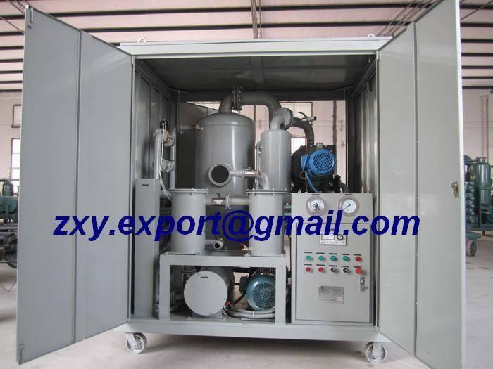 Dielectric Oil Treatment, Transformer Oil Regeneration, Insulating Oil Filtering Machine