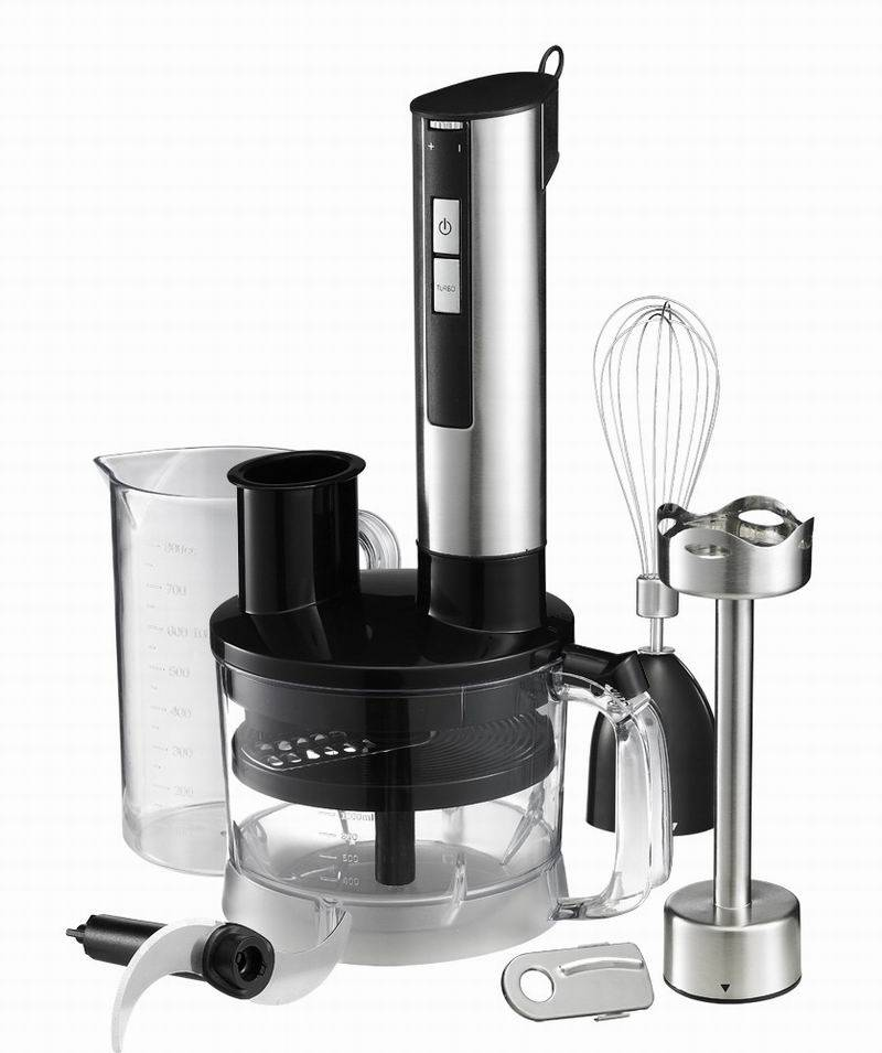600W HB103 Stanless Steel Hand Blender Stick Blender Immersion Blender