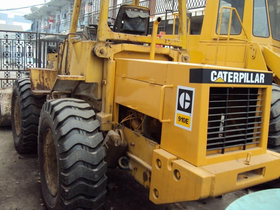 used cat wheel loader 910E