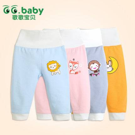 New2015 Cotton Autumn Winter Baby Pants High Waist Baby Boy Girl Clothing Romper Infant Pants