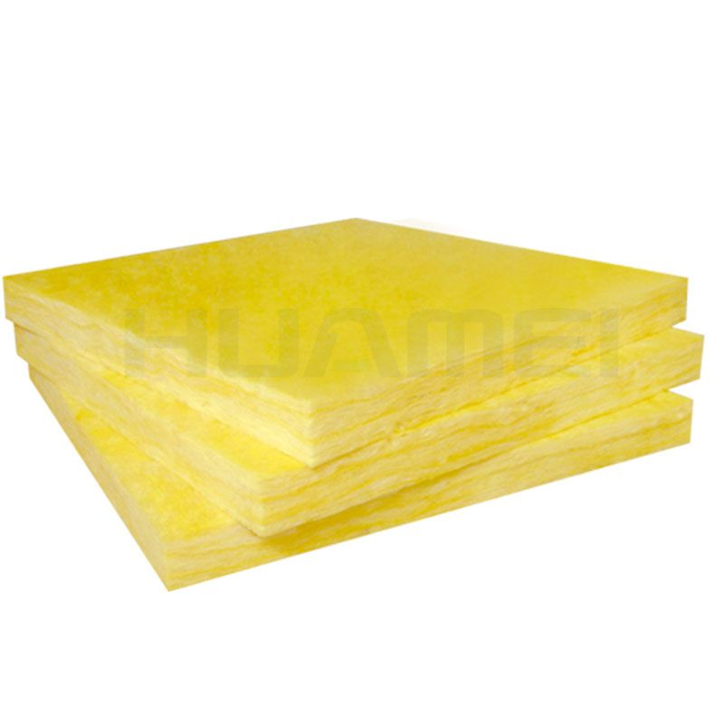 High-temperature glass wool