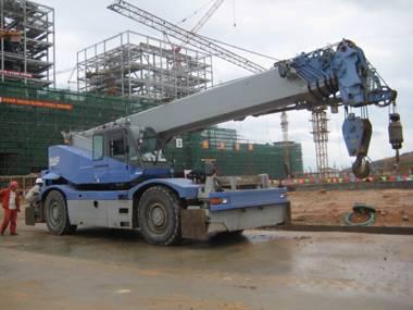 KOMATSU LW500-1 50ton used truck mounted crane for sale