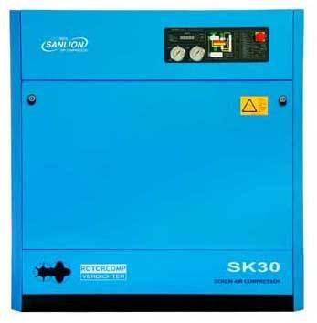 Sanlion Bauer 30 HP Screw Air Compressor (SK-30)