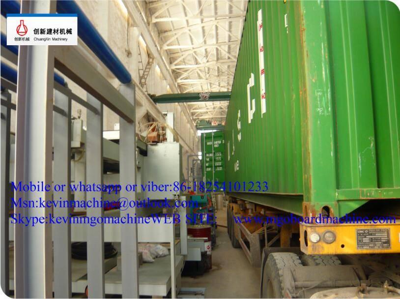 automatic mgo board production line making machine