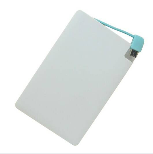 Slim Name Card Power Bank, 1,800mAh in Shenzhen