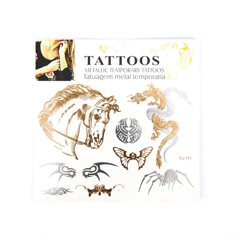 Metallic Tattoo Sticker