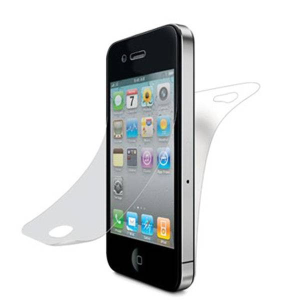 Gold Tempered-glass Screen Protector for iPhone 5S, 8-9H Surface Hardness