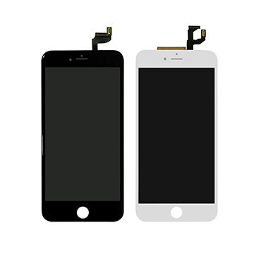 LCD Touchscreen Assembly for iPhone 6S, White/Black