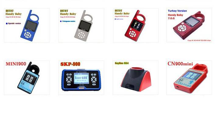 handy baby 4 version and more auto key programmer