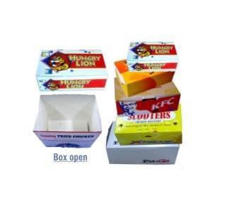 food burger boxes