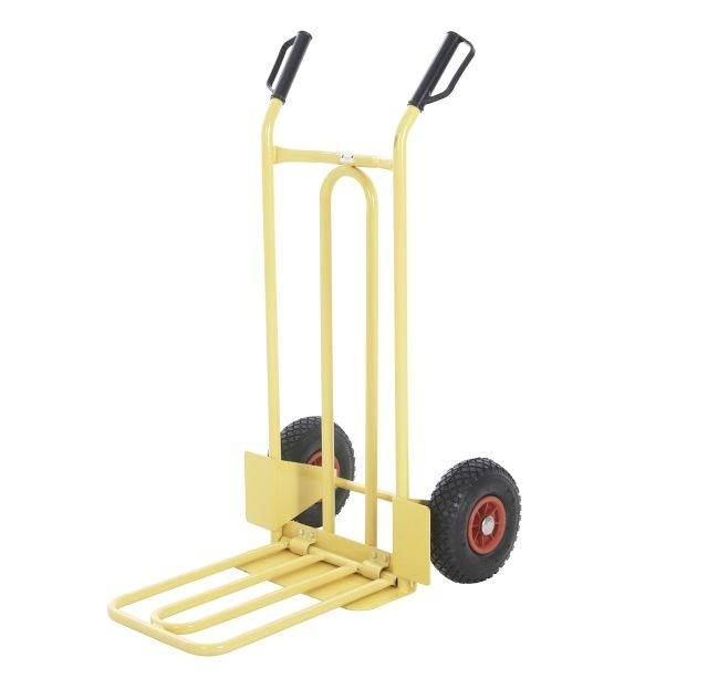 Fixed and folding toe plate sack truck RCA-H0C19