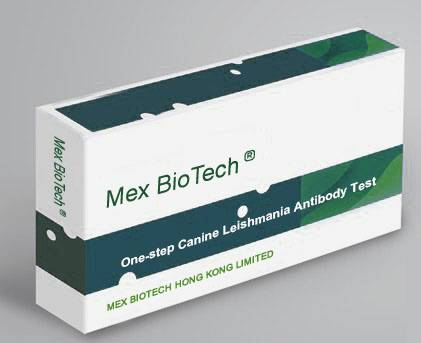 One Step Canine Leishmania Antibody Test