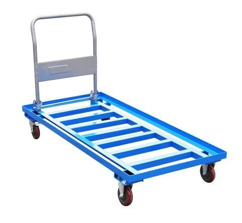 Folding ladder platform hand trolley RCA-FA-018