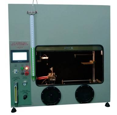 UL94 IEC60695 Touch Screen Horizontal Vertical Flammability Test Equipment