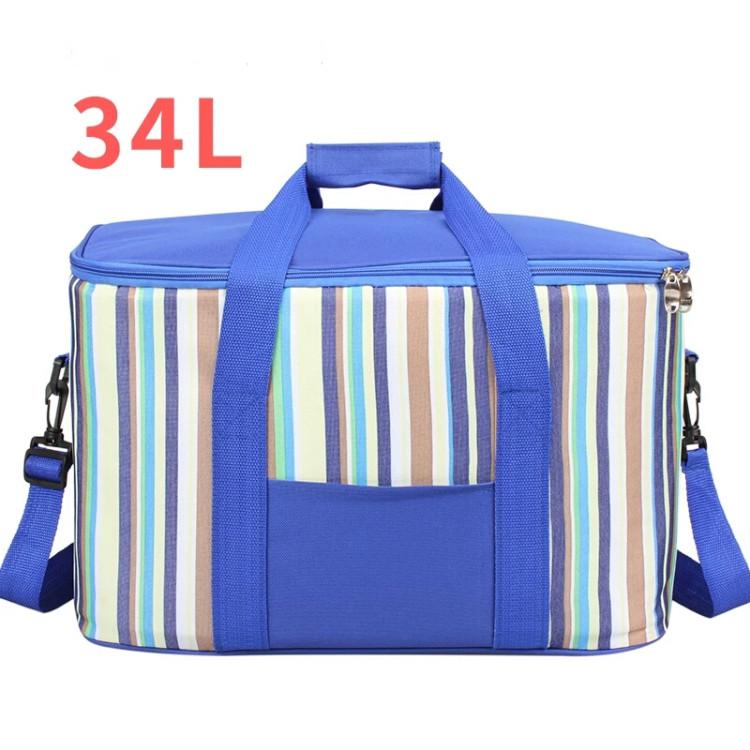 Large capacity oxford aluminium foil cooler bag picnic bag