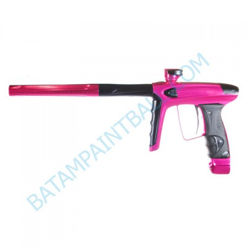 New DLX LUXE ICE Paintball Marker Gun - Custom - Gloss Pink and Dust Black