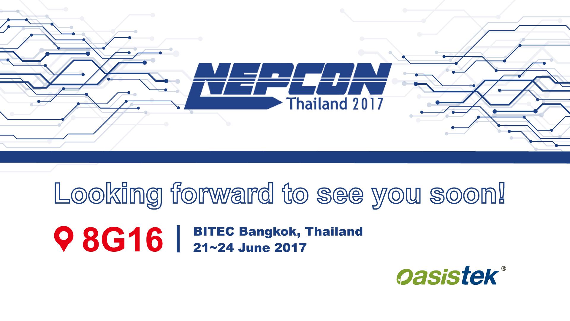 NEPCON Thailand 2017 - Oasistek