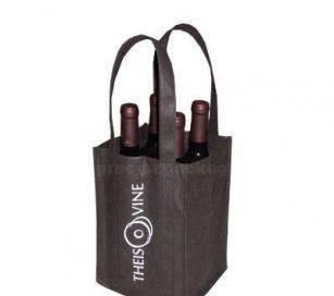 reusable non woven bottle bag