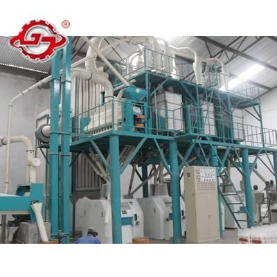 50T/D Maize Flour Processing Line,Maize Flour Milling Machine